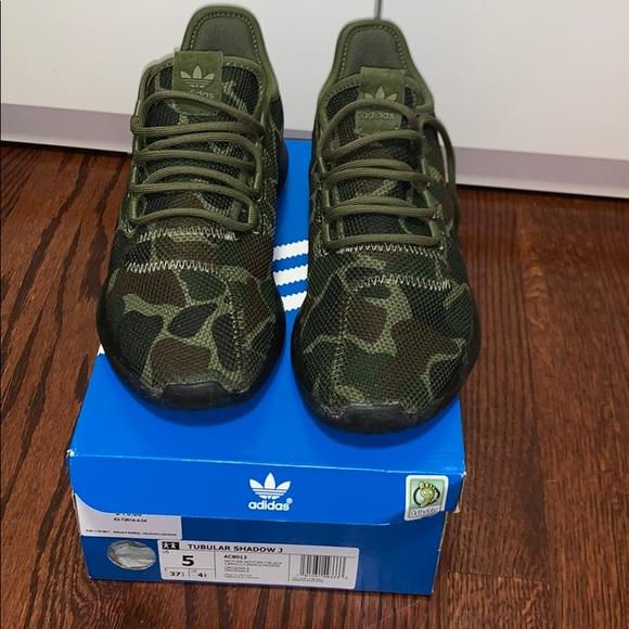 huge selection of 3577b cb69c adidas Shoes - Adidas Tubular Shadow Camo Sneakers!